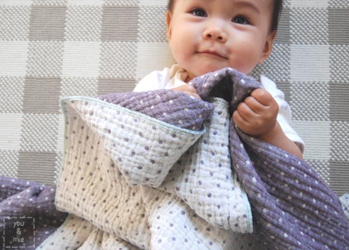 Triple Gauze Blanket by you & mie