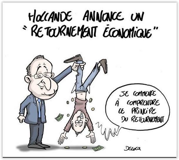 François Hollande Retournement économique Frenchonomics